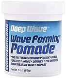 WaveBuilder Deep Wave Forming Pomade | Original Formula Builds, Creates, Holds, Defines Hair Waves, 3 Oz
