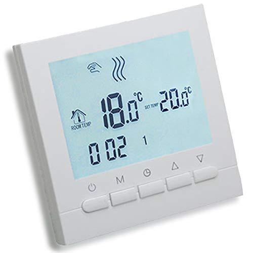AVStar - Termostato inteligente programable para calefacción de...