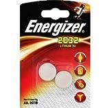 Energizer - Pile CR 2032, lithium 3V, DL 2032 - Les 2 piles