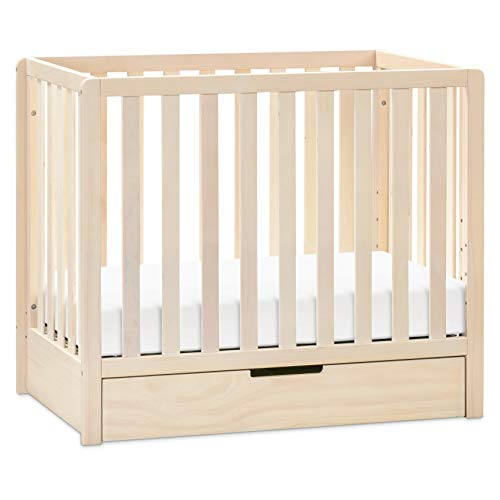 Product Image 1: Carter's by DaVinci Colby 4-in-1 Convertible Mini Crib with Trundle in Washed Natural, Greenguard Gold Certified