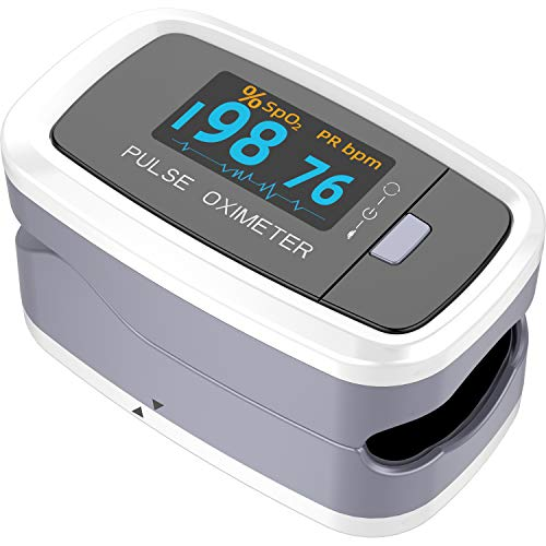Ckeep Blood Oxygen Saturation Monitor Pulse Heart Rate and SpO2 Monitor