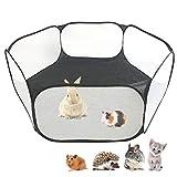 Amakunft Cage pour petits animaux portable, respirante et transparente,...