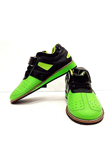 RXN Men's Weightlifting Shoes Green Size -11