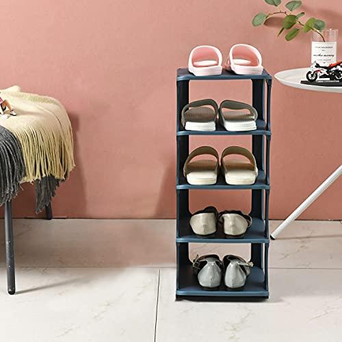 Utapossin Zapatero Modular, 4 Niveles Organizador Zapatos...
