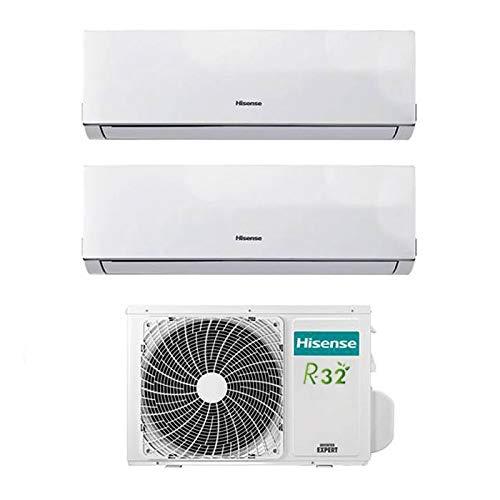 Condizionatore Climatizzatore Inverter Hisense New Comfort Dual Split 9000+12000 9+12 Btu...