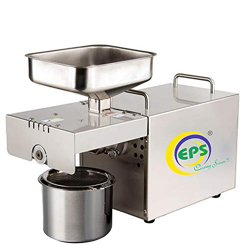 EPS Oil Press Machine Stainless Steel 400 w Organic Pure Fresh Healthy Oil Maker