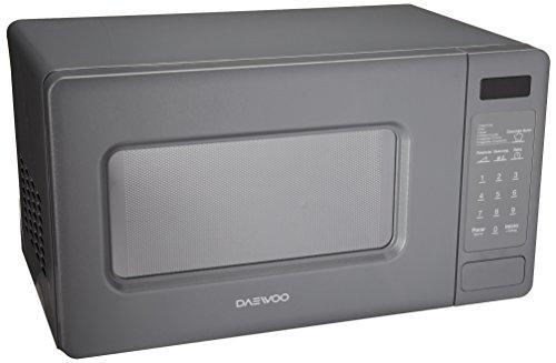 Daewoo KOR-667DG - Horno de Microondas, 0.7, color Gris