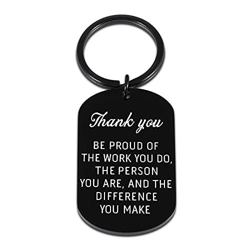 Employee Appreciation Gifts - Keychain for Coworker Boss...