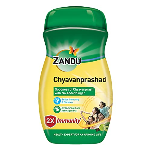ZANDU CHYAVANAPRASH, Sugar Free Immunity Builder - 900 gm