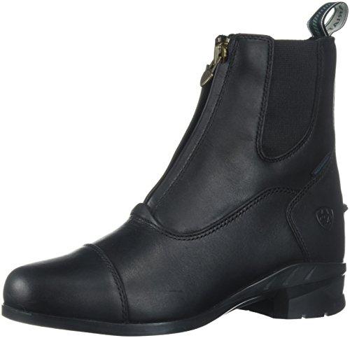 Ariat Women's Heritage Iv Zip H2O Work Boot, Black, 8 B US