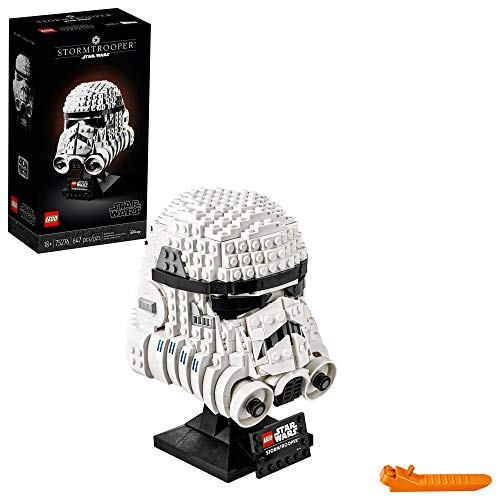 LEGO Star Wars Stormtrooper Helmet 75276 Building Kit, Cool...
