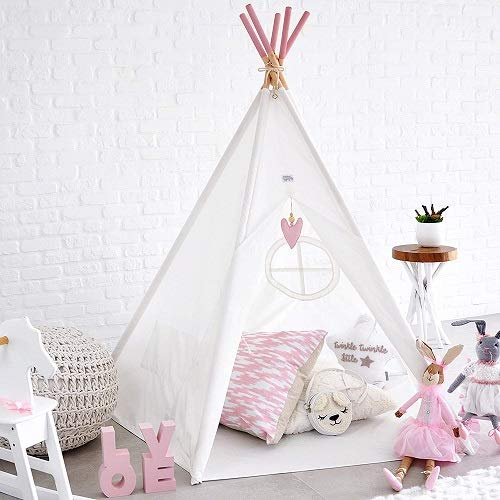 Hippococo Teepee Tent for Kids (Pink)