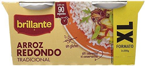 Brillante Arroz Redondo - Pack de 16 vasitos X 200 Gr - Total 3200 Gr