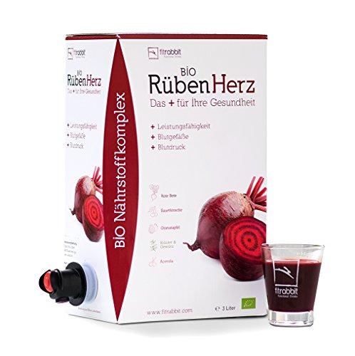 fitrabbit Bio Rüben Herz - para la presión arterial, vasos