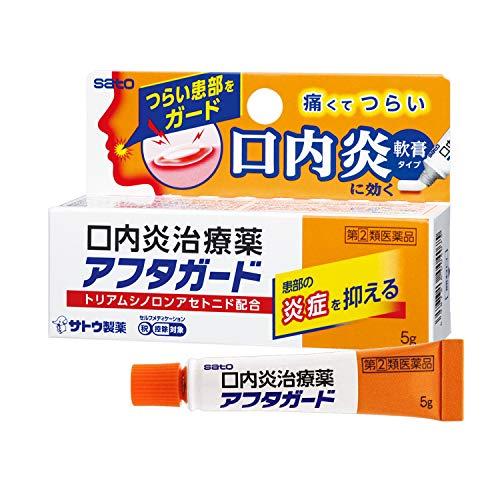 【指定第2類医薬品】アフタガード 5g ※セルフメディケーション税制対象商品