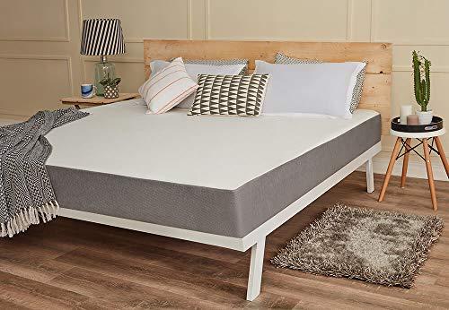 Wakefit Orthopaedic Memory Foam Mattress, King Bed Size (78x72x8)