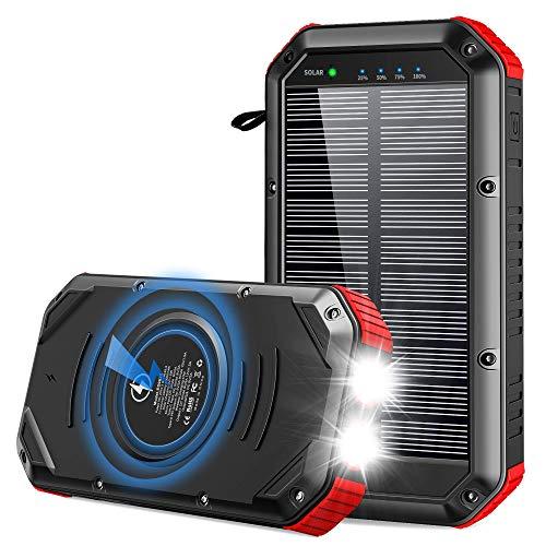 ORITO Powerbank Solare 30000mAh, 10W Caricatore...