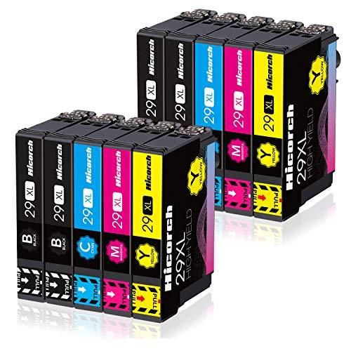 Hicorch 29XL Cartucce d'inchiostro Compatibile con Epson 29 XL per Epson Expression Home XP-235...