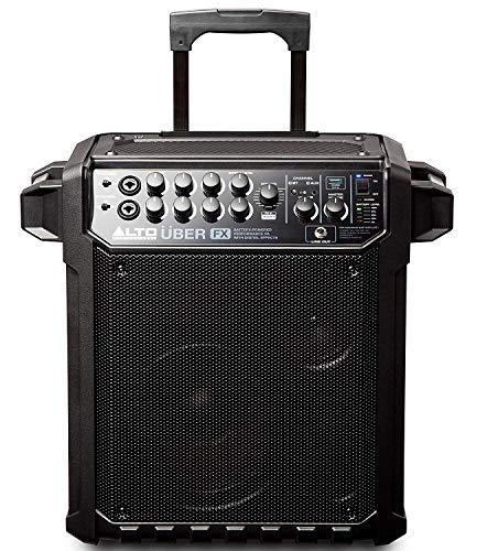 ALTO Professional Uber FX | Portable PA System with Bluetooth, Built-in Effects, Rechargeable Battery, 100 W Power, XLR and Line Input, for Music, Street Performers, Classes, Musicians