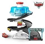 Disney Pixar Cars Circuit Spirale Rust-Eze pour Mini Racers, petite voiture...