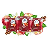 Glade 3-Wick Candle Apple Cinnamon, Fragrance Candle Infused with Essential Oils, 3 Count