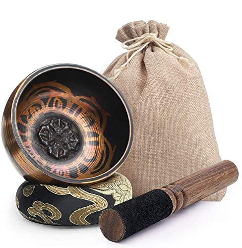 DomeStar Tibetan Singing Bowl Set Sound Bowl Meditation Bowl