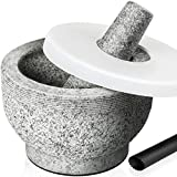 Tera Mortar and Pestle Set with Lid...