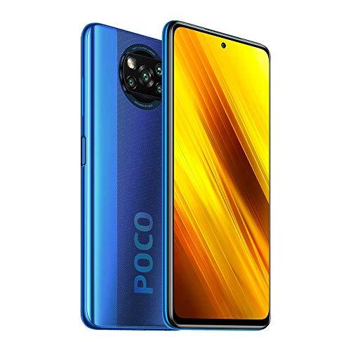 Xiaomi Poco X3 NFC - Smartphone 128GB, 6GB RAM, Dual SIM, Cobalt Blue [Globale Version]