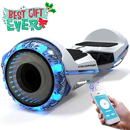 COLORWAY CX911 Advanced Premium Hover Scooter Board - Overboard SUV 6.5'' avec Bluetooth APP Moteur 700W - Gyropode Scooter Electrique