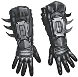 Rubie's Men's Arkham City Deluxe Batman Gloves, Black, One Size