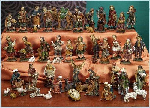 Idea de Navidad: cuna Portal de Belén incluye 47 figuras de