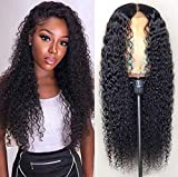 Lace Front Wigs Human Hair Long Curly Wig for Black Women 24 inches