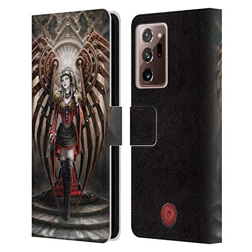 Head Case Designs Officially Licensed Anne Stokes Avenger Steampunk Leather Book Wallet Case Cover Compatible With Galaxy Note20 Ultra / 5G (Electronics)