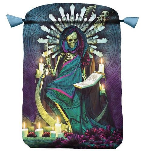Santa Muerte Tarot Bag