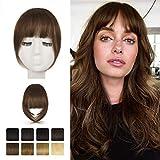 Frange a clip, BARSDAR 100% extensions de cheveux humains Clip en French...