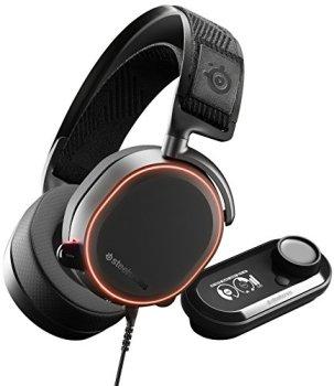 SteelSeries Arctis Pro GameDAC - Casque Gaming - Audio Haute Résolution certifié - ESS Sabre DAC-Noir