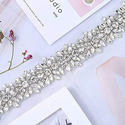 【Top Quality Material】- Made of clear glass and gold claw. The crystal rhinestones have brilliant shine. Very sparkle and lightweight. 【Usage Method】- Hot melt adhesive glue backing, iron On / Hot Fixed / Glued / Sewn On rhinestone crystal applique. ...