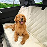 Pet Magasin Luxury Pet Car Seat Cover Waterproof & Scratch Proof & Nonslip Backing & Hammock Style & Heavy Duty Back Seat Protector for Cars Trucks and SUVs