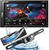 PIONEER AVH-310EX Double-DIN 6.8-inch In-dash Car DVD Receiver with Built-in Bluetooth Streaming with HD Xtremevision Backup Camera + Gravity Magnet Phone Holder