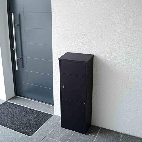 Profirst Mail PM 1100 Stand Paketbriefkasten Schwarz Briefkasten Paketfach Paketbox - 2