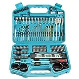 Makita 98C263 - Kit de accesorios para taladrar y atornillar (101 piezas)