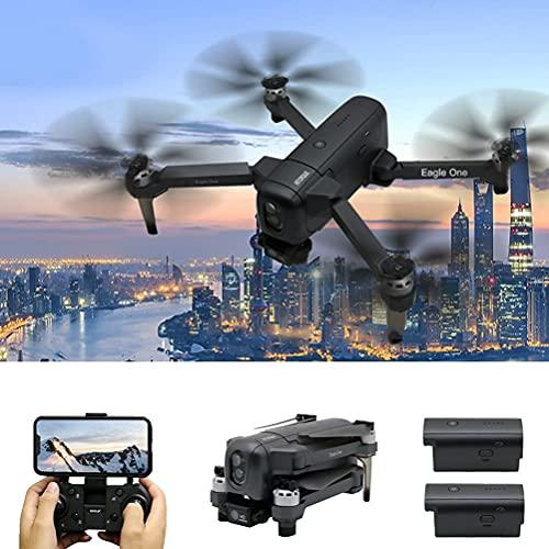 DCLINA Drone con Fotocamera per Adulti 4K HD FPV Live Video 110  Grandangolo, evitamento Ostacoli Intelligente, 60 Minuti Durata della Batteria Quadricottero RC con