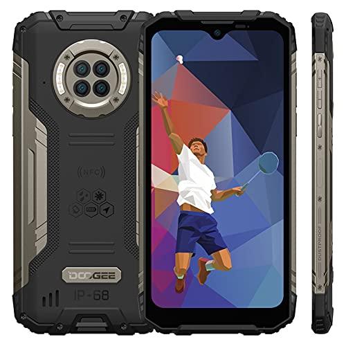 DOOGEE S96 Pro Teléfono Móvil Resistente 4G,IP68 Smartphone Impermeable【8GB RAM+128GB ROM】con NFC,Batería 6350mAh,Carga Inalambrica,Rápida 24W,Cuatro Cámara 48MP,Pantalla...