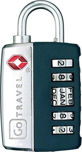 Go Travel My Date Lock Candado convencional 1pieza(s) - Candados (Candado convencional, Cerradura con combinación, Maleta, Colores surtidos, 3 cm, 1,27 cm)