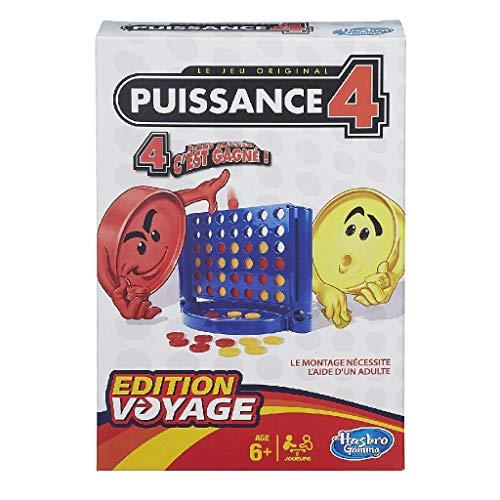 Hasbro Puissance 4 - Jeu de societe Puissance 4 - Jeu de Voyage - (Version...