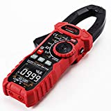 KAIWEETS Inrush Clamp Meter 1000A True RMS AC/DC Current Amp Meter, VFD, LOZ Mode, 6000 Counts, Measures Current Voltage Temperature Capacitance Resistance Diodes Continuity Duty-Cycle