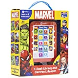 Marvel Super Heroes Spider-man, Avengers, Guardians, and More! - Me Reader Electronic Reader with 8 Book Library – Great Alternative to Toys for Christmas - PI Kids