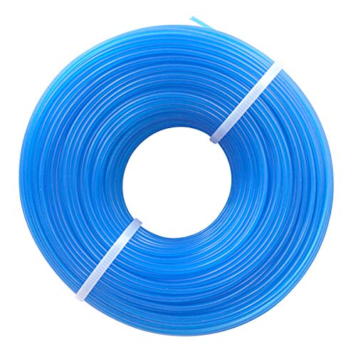 Akuoly 100m Filo per Tagliabordi Decespugliatori Strimmer Linee Tagliaerba 1,6 mm in Nylon