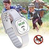 Bracelet Anti-Moustique à Ultrasons pour Enfants Adultes, Montre Intelligente, Montre Intelligente...