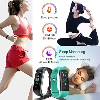 Vabogu-Fitness-Tracker-HR-with-Blood-Pressure-Heart-Rate-Monitor-Pedometer-Sleep-Monitor-Calorie-Counter-Vibrating-Alarm-Clock-IP68-Waterproof-for-Women-Men